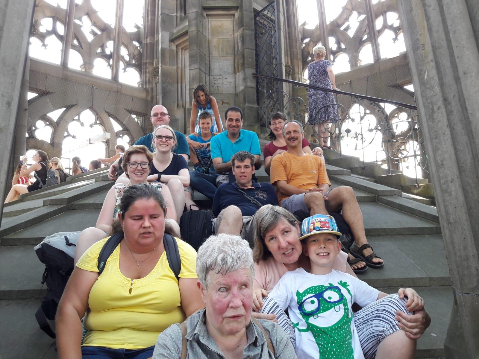 Ausflug nach Ulm im August 2018 - Gruppenbild