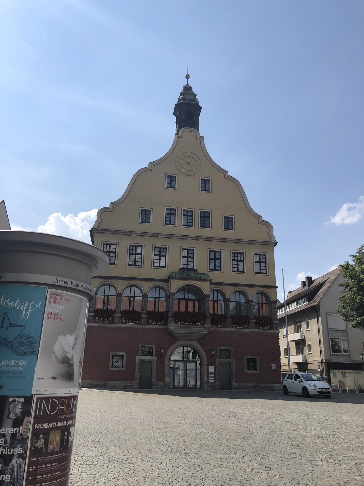 "Das Ulmer ""Schwörhaus"""