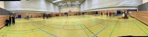 Die Halle in WEilimdorf im Querschnitt