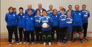 Mannschaftsfoto BSA Torball SV Hoffeld 2020