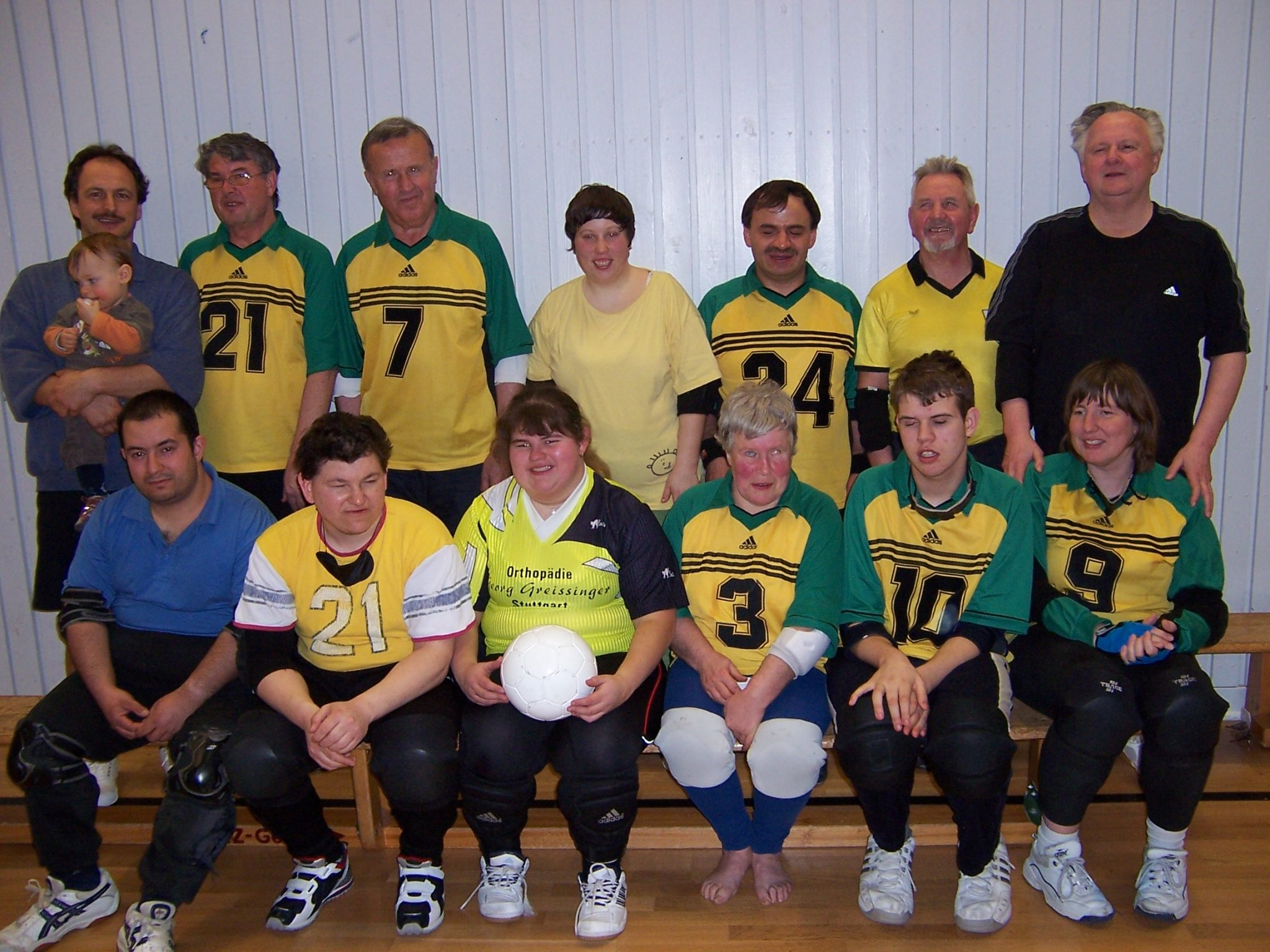 Die Torballgruppe im Jahr 2008